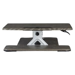 Gray Height Adjustable Desk Riser