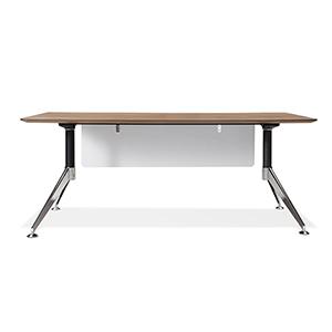 300 Collection Walnut Modern Computer Desk 71-Inch