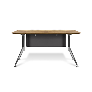 400 Collection Zebrano Computer Desk 55-Inch