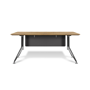 400 Collection Zebrano Managers Desk 63-Inch