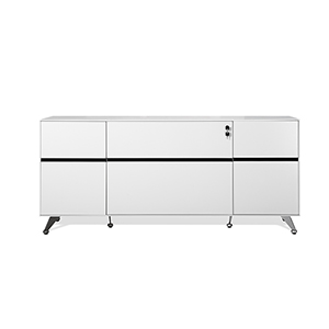 400 Collection White Storage Credenza