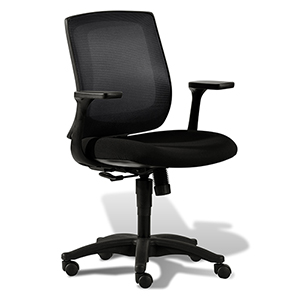 Camilla Black Mesh Office Task Chair
