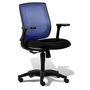 Camilla Navy Blue Mesh Office Task Chair