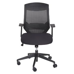 Sonja Black Modern Ergonomic Task Office Chair