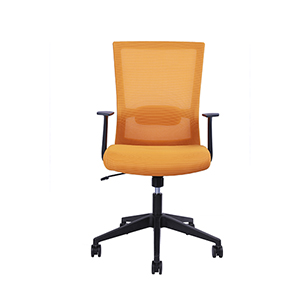 Yellow Rainbow Modern Ergonomic  Chair
