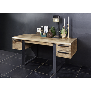 Wild Oak Live Edge Rubico Writing Desk