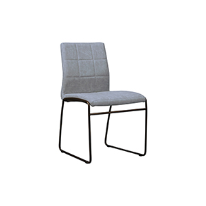 Tampa Gray Eco-Leather Chair