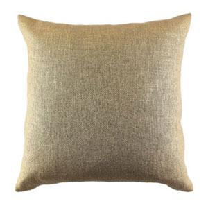 Metallic Glaze Gold Throw Pillow