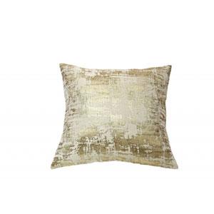 Scratch Gold Throw Pillow