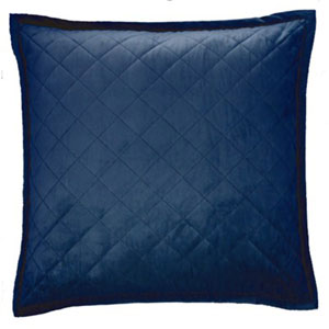 Velvet Navy Four-Piece King Coverlet Set
