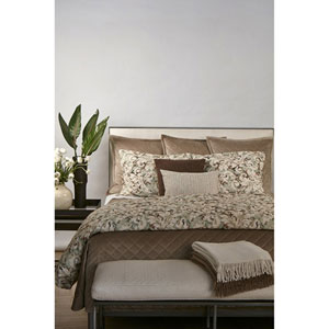 Acanthus Sage Three-Piece King Duvet Set