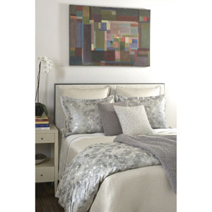 Terrazzo Silver Three-Piece King Duvet Set