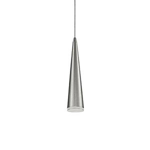 Brushed Nickel 12-Inch One Light LED Pendant