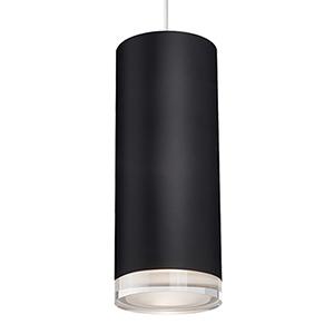 Black 10-Inch One Light LED Pendant