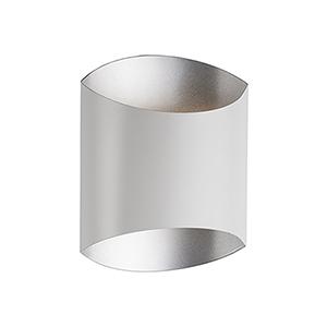 White 10-Light One Light LED Wall Sconce