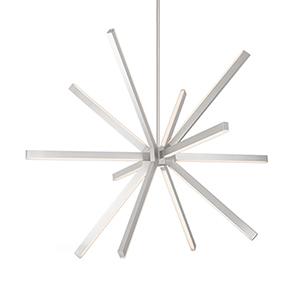 Sirius Brushed Nickel 48-Inch LED Chandelier