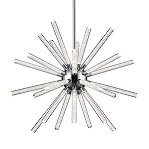 Astro Chrome 32-Inch LED Chandelier