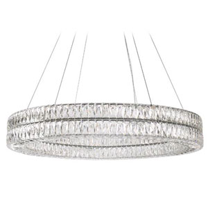 Solaris Chrome 59-Inch LED Chandelier