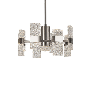 Oslo Platinum 22-Inch LED Chandelier