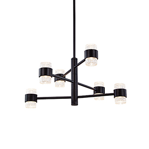 Copenhagen Black 24-Inch One-Light Outdoor Pendant