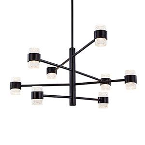 Copenhagen Black 32-Inch One-Light Outdoor Pendant