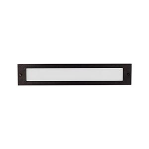 Bristol Black 19-Inch One-Light Recessed Light