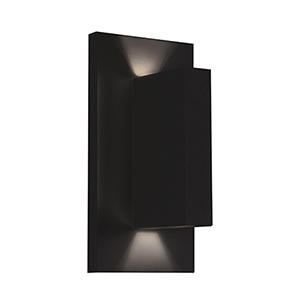 Vista Black One-Light Wall Sconce