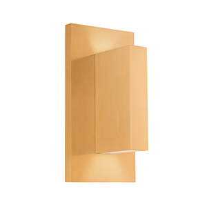 Vista Gold One-Light Wall Sconce