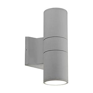Grey Nine-Inch One-Light Wall Sconce