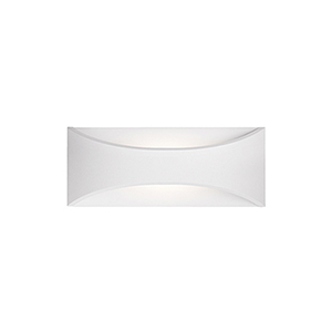 White Eight-Inch One-Light Wall Sconce