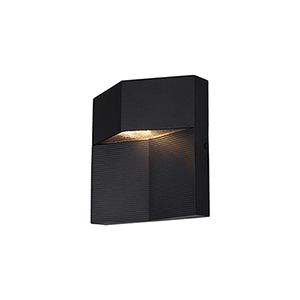 Element Black One-Light Wall Sconce