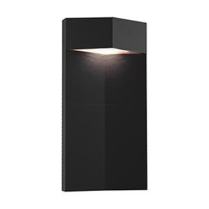 Element Black One-Light Wall Mount