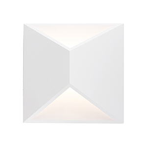 Indio White Seven-Inch One-Light Wall Sconce