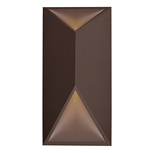 Indio Espresso 12-Inch One-Light Wall Sconce