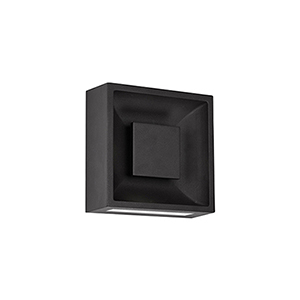 Baltic Black Eight-Inch One-Light Wall Sconce