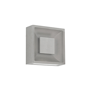 Baltic Grey Eight-Inch One-Light Wall Sconce