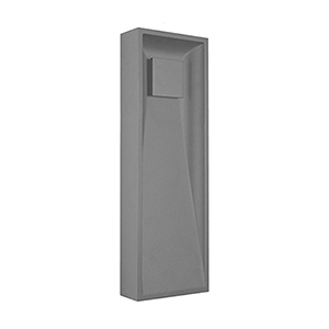 Baltic Grey 18-Inch One-Light Wall Sconce