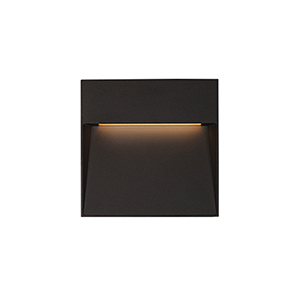Casa Black Four-Inch One-Light Wall Sconce
