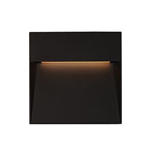 Casa Black Six-Inch One-Light Wall Sconce