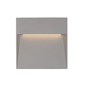 Casa Grey Six-Inch One-Light Wall Sconce