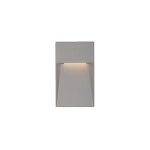 Casa Grey Four-Inch One-Light Wall Sconce