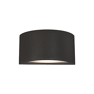 Olympus Black One-Light Wall Sconce