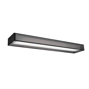 Covina Black 48-Inch One-Light LED Flush Mount