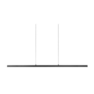 Vega Black 56-Inch One-Light LED Pendant