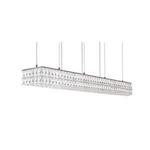 Solaris Chrome 48-Inch One-Light LED Pendant