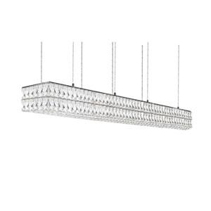 Solaris Chrome 59-Inch One-Light LED Pendant