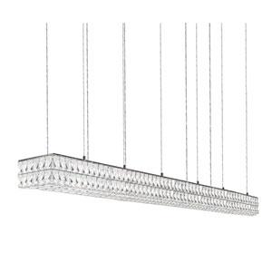 Solaris Chrome 70-Inch One-Light LED Mini-Pendant