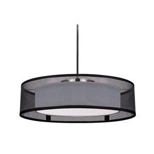 Covina Black 15-Inch One-Light LED Pendant