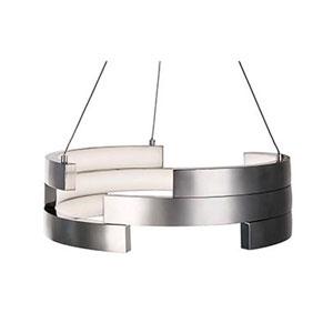Nickel 15-Inch One-Light LED Pendant