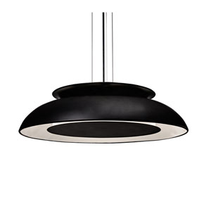 Eclipse Black 26-Inch One-Light LED Pendant